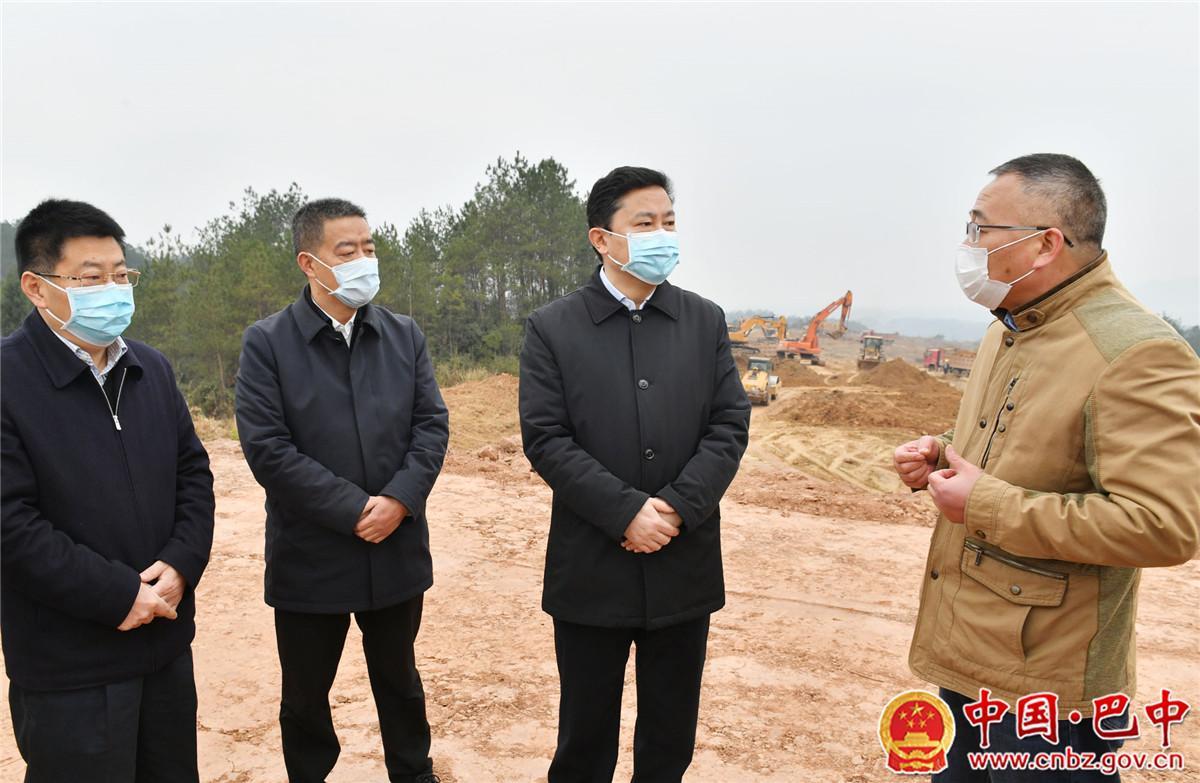 罗增斌前往南江县调研督导农村疫情防控、重点项目复工、春耕生产和脱贫攻坚工作