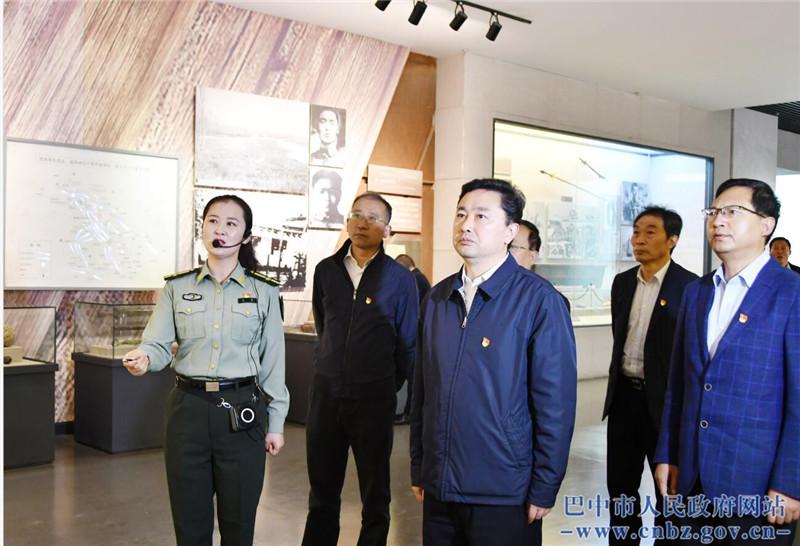 罗增斌率队赴甘肃高台中国工农红军西路军纪念馆考察学习