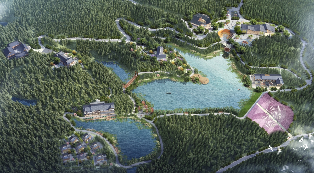 《巴州区莲花山森林公园核心区建筑设计方案规划公示》信息