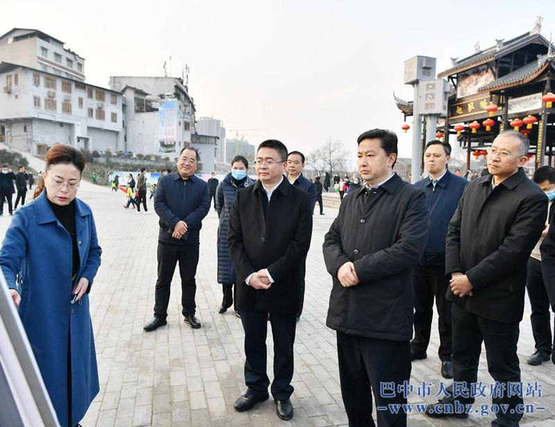 罗增斌在恩阳区调研城市建设和恩阳古镇保护提升工作  陶斌参加调研