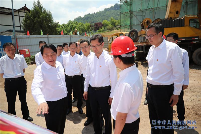 高鹏凌到通江县开展党史学习教育并调研相关工作